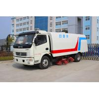 Best Good performance 5-6CBM street sweeping vehicle with stainless steel tank and Japanese ISUZU assitant engine wholesale