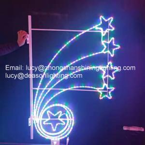 Best christmas decoration pole lights wholesale