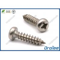 Best Stainless Steel Pan Head Philips Sheet Metal Screws wholesale