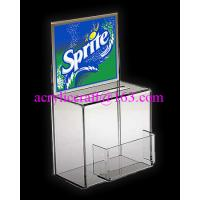 Best China Manufacture Custom Donation Box With Poster And Card Holder wholesale