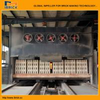 China Brick tunnel kiln for full automatic clay brick making machine line on sale