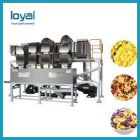 China 100 T / D Corn Flakes Processing Line Corn Processing Equipment Industrial on sale