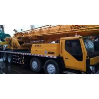 Best XCMG Brand Used Truck Crane Mobile 55 Ton Yellow Stretchable Arm Strong Engine Crane wholesale