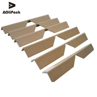 China Paper Angle 2.5mm Pallet Edge Protectors 1.2m Length on sale