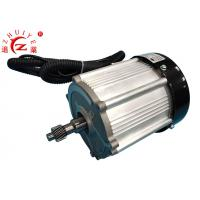 China Permanent Magnet Synchronous Electric Motor , 1.8KW 60V Geared Electric Motors on sale