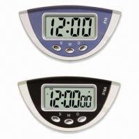 China Small Digital Clocks with Calendar and Alarm Function, Measures 83 x 46 x 28mm, Used for Car on sale