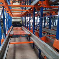 China Custom Size Warehouse Shuttle System Radio Pallet Runner With Forklift Work on sale
