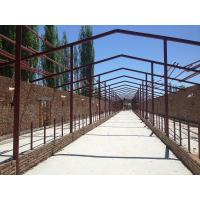 China Prefabricated Steel Structural Warehouse Workshop Steel Cowshed And Construction on sale