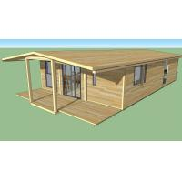 Best Strong Plasticity Custom Container House , Steel Frame Prefabricated Houses wholesale