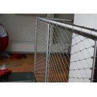 China Decorative Protection Stainless Steel Wire Rope Net For Handrail Railing on sale