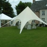 Best White Outdoor star pop up tent canopy Wedding sun shade with Carbon Fiber pole wholesale