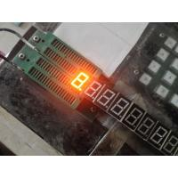 China 0.56 inch signle digit 7 segment led display with super amber green red blue colors on sale