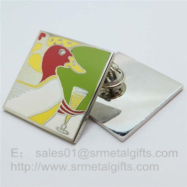 Cloisonne soft enamel Emblem Lapel Pins