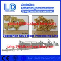 Best 304 Stainless steel Automatic Vegetarian Soya Meat assembly line wholesale