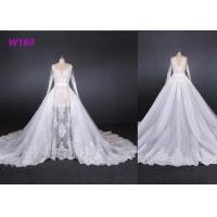 Best Perspective Fantasy Bride Female Wedding Dress High End Detached Tail wholesale