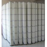 China Air pleated filter element for polyurethane foam board cutting dust collector on sale