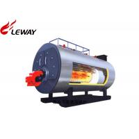 Best Horziontal Industrial Natural Gas Hot Water Boiler 0.35MW - 7MW Rated Power wholesale