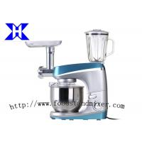 Best 3 In 1 Blue Top And Silver Body Multifunction Stand Mixer With Blender wholesale