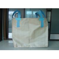 China OEM Tubular Big FIBC Bulk Bag Containers , Woven Polypropylene Jumbo Bags on sale