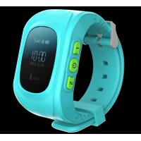 China gps gsm wrist watch tracker , Kid GPS tracking calling watch,pink,blue,green on sale