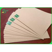 China Virgin Fiber Unbleached Kraft Paper 300gsm Superior strength Recyclable on sale
