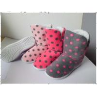 China Custom Womens Knitted Boots / House Slippers with Different Color on sale