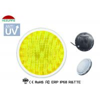 Best Warm White 3500K Waterproof Pool Lights AC / DC 12V Base With Two 1.5m Length Wires wholesale