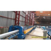 China 45# Steel Round Downspout Roll Forming Machine 40GP Container Integrated Adjustment on sale