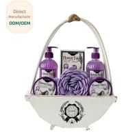 Travel Home Spa Gift Set 24.5*5.5*15 Personal Bath Cleaning OEM Service