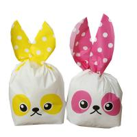 Best Disposable Cartoon Paper Biscuit Bags Wax Coated Paper Material wholesale