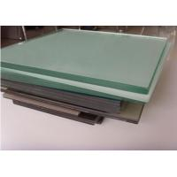 China PVB Film Laminated Tempered Glass , Toughened Safety Glass 6.38mm thickness on sale