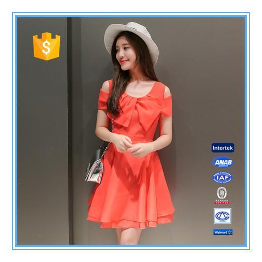 Cheap Online shopping elegant chiffon casual dresses designs for sale