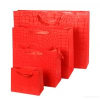 Buy cheap Silver Foil Paper shopping bag from wholesalers