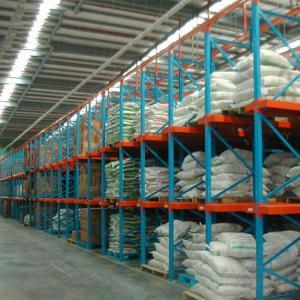 China Storage Equipment Adjustable Drive In Racking System Metal Storage Bin Rack on sale
