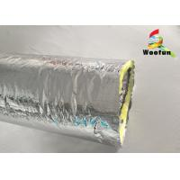 Best Air Ventilation Flexible HVAC Duct Insulation Wrap Aluminum Foil With Glass Wool wholesale