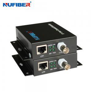 Best 1BNC 1 RJ45 Ip Extender Over Coax 84M Bandwidth For Elevator wholesale