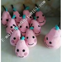 Cheap Factory Custom OEM High Quality Hand Knit Crochet Cotton Baby Pet  Animal Kid Toys and Dolls  DIY Fruit Toy for sale