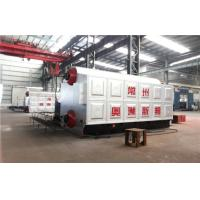 Best Dual Rear Drum Vertical Spiral Coal Fired Steam Boiler Heating System wholesale