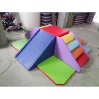 Best Modularized Indoor Soft Climber Playset , Childrens Soft Play Equipment Anti Crack wholesale