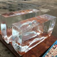 China Clear Block Ice Block Making Machine 1ton Per Day for Ice Sculpture on sale