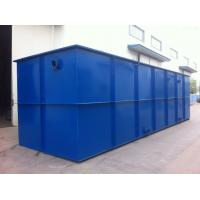 Best On Site Sewage Treatment Equipment , Wastewater Treatment Plant Equipment wholesale