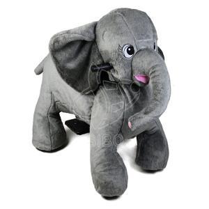 Best Sibo Elephant Animal Ride On Toy Plush Animal For Toddler Park wholesale
