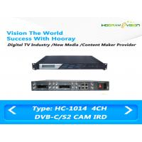 ASI IP Output Digital Satellite Receiver Irony Material 110-860 MHz Frequency Range