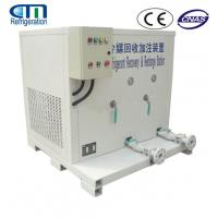 China Gas Refrigerant A/C Recovery Unit For ISO Tank / Chillers Maintenance Rapid Recovery Rate on sale