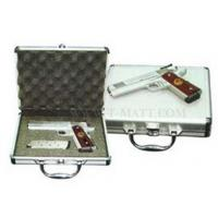 Best Customzied Size Aluminum Locking Gun Cases With Soft Cushioned Interior wholesale