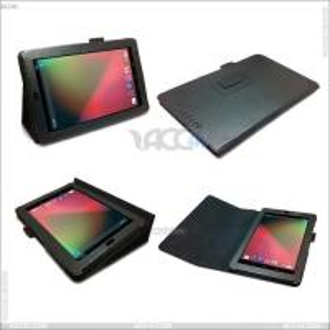 Best Litchi Skin Pattern Stand Leather Case for Google Nexus 7 (P-GGNEXUS7CASE001) wholesale