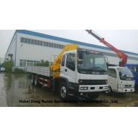 Best ISUZU 5 Ton -14 Ton Truck Mounted Crane With Telescopic Boom And Knukled Boom wholesale