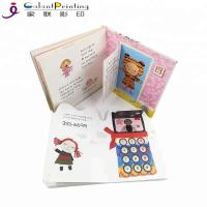Best Custom Die - Cutting Children'S Board Book Printing Film Lamination For Education wholesale