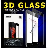 3D  0.15 Mm 9H Full Cover Cell Phone Tempered Glass Screen Protector For Iphone 7 / 7plus
