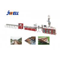 Buy cheap Jwell PE WPC Plastic Recycling Floor Product Many Times Using Plastic Extruder from wholesalers